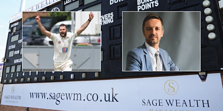 Sage Wealth Management seminar with Durham Cricket- Financial Education and Intergenerational Wealth tickets
