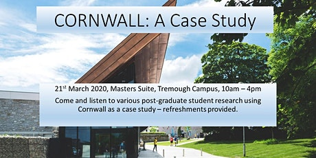 Cornwall: A Case Study tickets