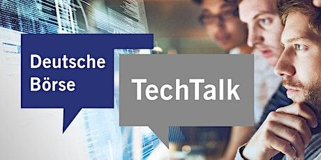 Deutsche Börse TechTalk | Serverless Apps., Distributed Systems, Cloud tickets