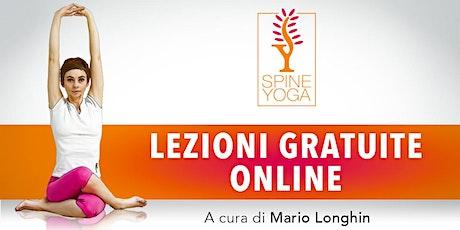 Lezioni gratuite online Spine Yoga biglietti