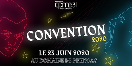 Convention CPME31 2020 billets