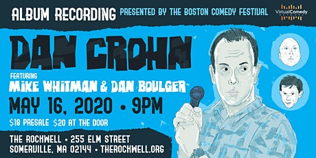 Dan Crohn - Album Recording! tickets
