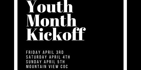 Mountain View Youth Kick Off Weekend tickets