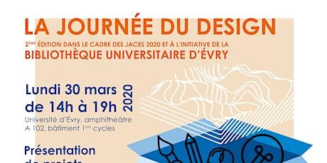 """Annulation de La Journée du Design, 2ème édition, """"Design & territoire"""", en présence de Patrick BOUCHAIN billets"""
