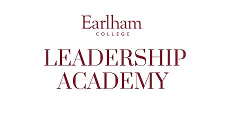 Earlham College Leadership Academy 2020 tickets