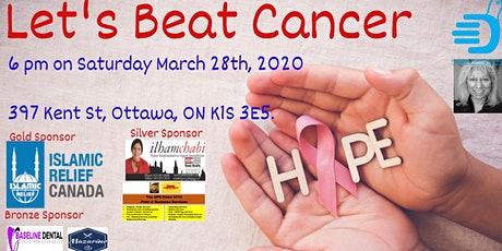 Let's beat Cancer tickets