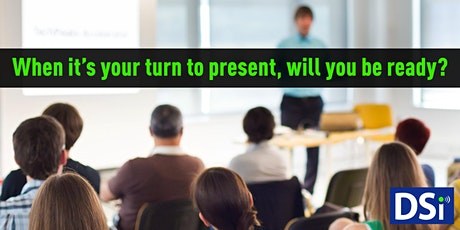 Presenting with Impact!	Personal & Professional Presentation Coaching tickets