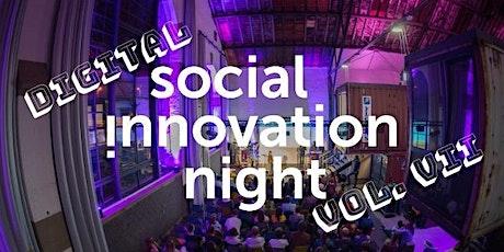 Digital Social Innovation Night Vol. VII tickets