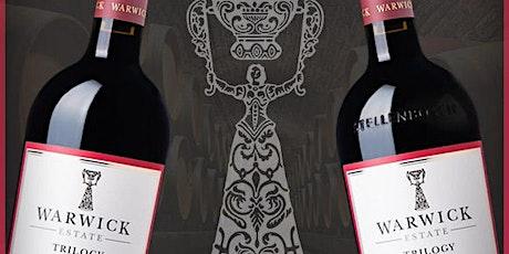 Warwick Estate South African Wine Tasting & Meet The Wine Maker tickets