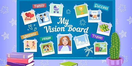 Create your Vision Board  with us at Profile Marlboro! tickets