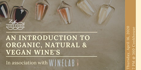 An Introduction to Organic, Natural and Vegan Wines tickets