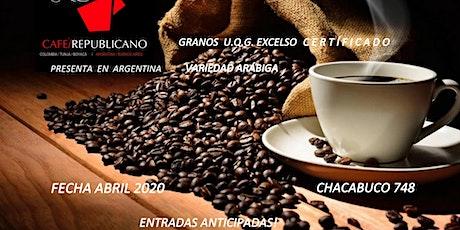 Degustación Café Granos Arábiga / Caturra Verdes & Tostados, Calidad Excelso. Origen Colombia entradas