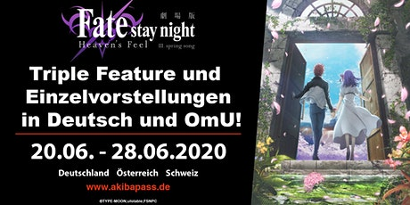 Fate/stay night [Heaven's Feel] - Fürth/Nürnberg Tickets