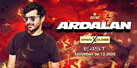 OPENXCLOSE: ARDALAN tickets