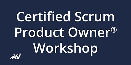 Certified Scrum Product Owner Workshop – REMOTE tickets