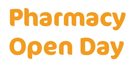 Pharmacy Open Day tickets