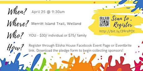 Elisha House Colour Run Fundraiser tickets