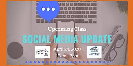 Social Media Update with Professor Kim Simons tickets