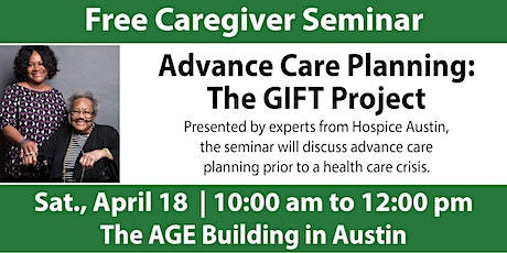 Advanced Care Planning: The GIFT Project tickets