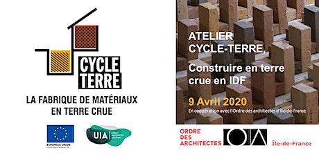 Atelier Cycle Terre - Construire en terre crue en Ile de France - CROAIF tickets