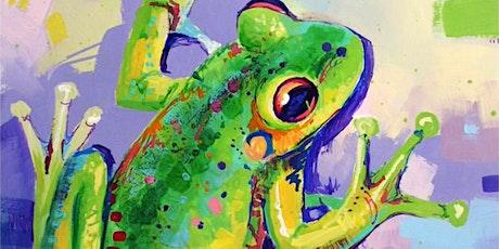Tree Frog - Social Art Class tickets