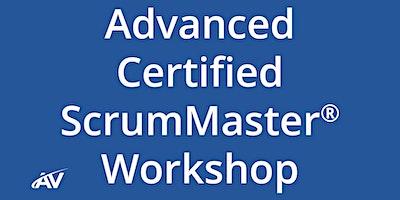 Advanced Certified ScrumMaster Workshop – REMOTE