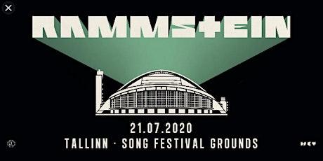 RAMMSTEIN TOUR 2020 TALLIN tickets