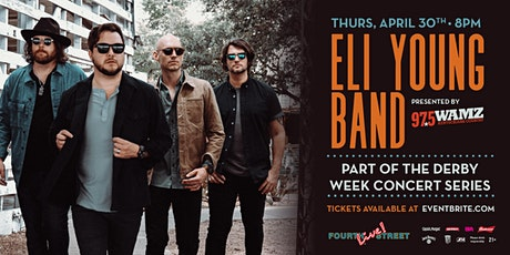 **CANCELLED** Derby Week Concert Series: Eli Young Band tickets