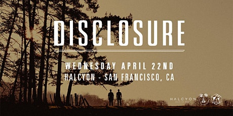 Disclosure- DJ Set tickets