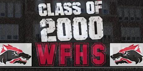 Wichita Falls High School  Class of 2000 - 20th Year Reunion - Dinner/Dance tickets