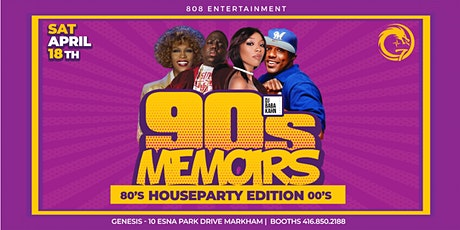 Memoirs House Party Edition tickets