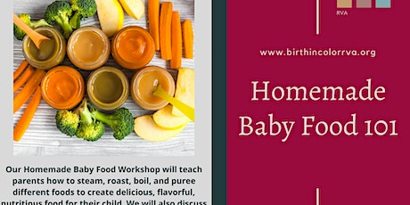 How to make your own baby food 101 tickets