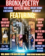 BRONX POETRY OPEN MIC tickets