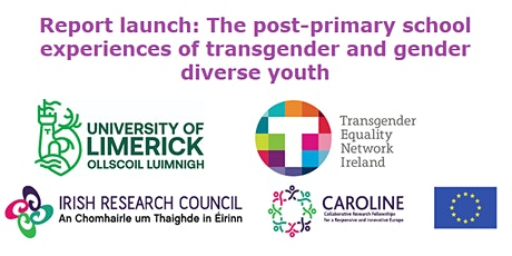 The post-primary school experiences of transgender and gender diverse youth tickets