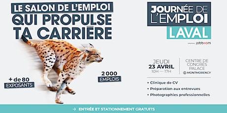 Journée de l'emploi - Laval billets