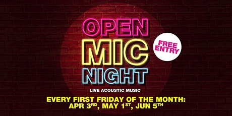 Open Mic Night (May) tickets