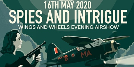 May Evening Airshow: Spies And Intrigue! tickets