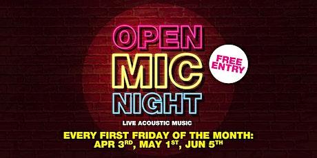 Open Mic Night (June) tickets