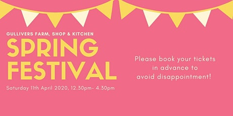 Gullivers Spring Festival 2020 tickets