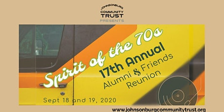 17th Annual Alumni & Friends Reunion, Spirit of the 70s tickets