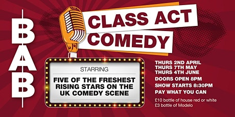 Class Act Comedy (April) tickets