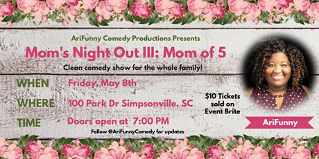 Mom's Night Out III: Mom of 5 tickets