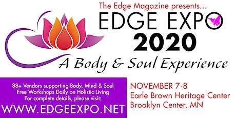 Edge Magazine Presents Edge Expo 2020: Holistic Living tickets