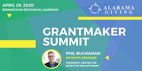 2020 Alabama Giving Grantmaker Summit tickets