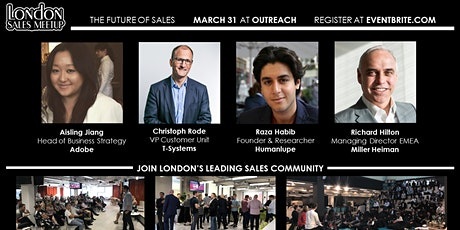 London Sales Meetup: What is the Future of Sales? - Postponed tickets