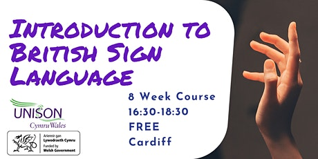 Introduction to British Sign Language (8 Week Course) tickets