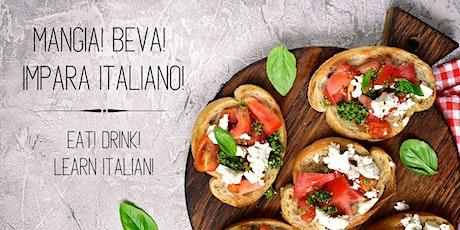 THE ITALIAN TABLE: Eat! Drink! Learn Italian! | Lesson 1 tickets