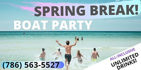 #Savage SPRING BREAK! BOAT PARTY! tickets