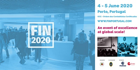 FIN2020 - The best international networking event bilhetes