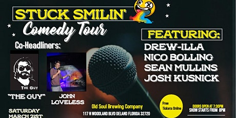 "Comedy Night with ""Stuck Smilin' Tour"" at Old Soul Brewing Company tickets"